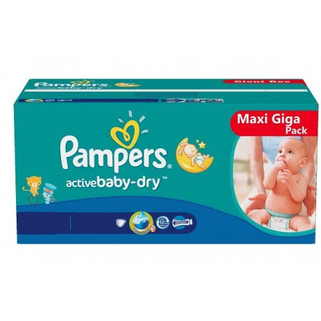 Pack jumeaux 720 Couches Pampers Baby Dry taille 4+ sur Couches Zone