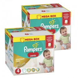 Mega pack 132 Couches Pampers Premium Care Pants taille 4 sur Couches Zone
