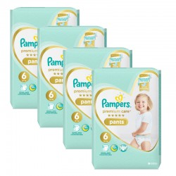 Giga pack 216 Couches Pampers Premium Care Pants taille 6 sur Couches Zone