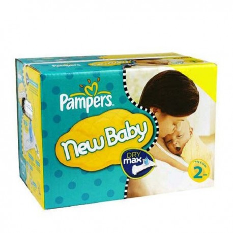 Pack jumeaux 720 Couches Pampers New Baby Premium Protection taille 2 taille 2 sur Couches Zone