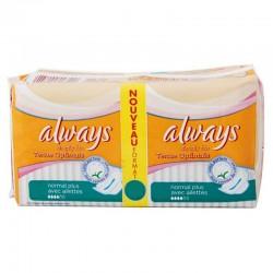 Simply Fits - Pack de 16 Serviettes hygiéniques d'Always taille normal plus