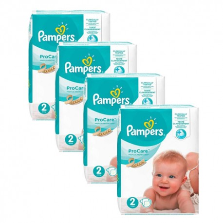Mega pack 108 Couches Pampers ProCare Premium protection taille 2 sur Couches Zone
