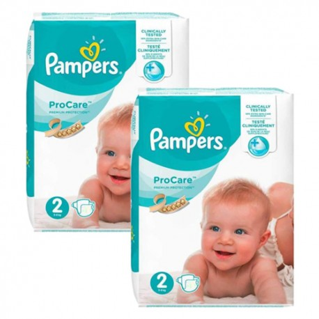 Giga pack 216 Couches Pampers ProCare Premium protection taille 2 sur Couches Zone