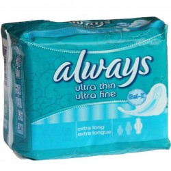 Ultra Thin - Maxi Pack de 80 Serviettes hygiéniques d'Always taille Long sur Couches Zone