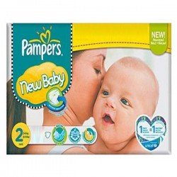 Pack jumeaux 820 Couches Pampers New Baby Premium Protection taille 2 sur Couches Zone