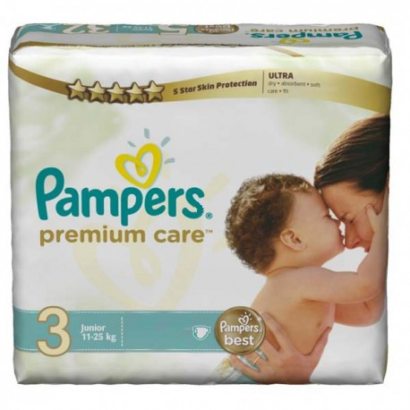 Mega pack 100 Couches Pampers Premium Care taille 3 sur Couches Zone