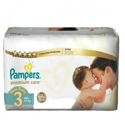 Giga pack 240 Couches Pampers Premium Care taille 3 sur Couches Zone