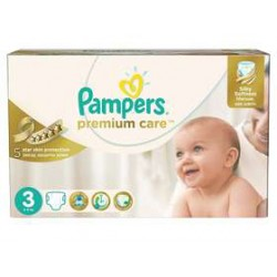 Maxi giga pack 320 Couches Pampers Premium Care taille 3