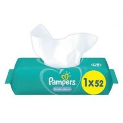 Pack 52 Lingettes Bébés Pampers Fresh Clean sur Couches Zone