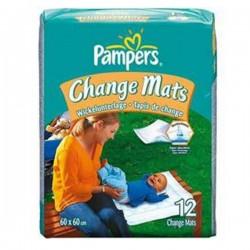 Pack de 12 Alèses de Changes Pampers taille 60x60cm sur Couches Zone
