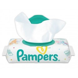 New Baby Sensitive - Pack de 50 Lingettes Bébés Pampers sur Couches Zone