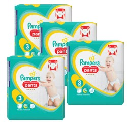 Maxi giga pack 385 Couches Pampers Premium Protection Pants taille 3 sur Couches Zone