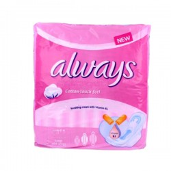 Ultra Thin Coton - Pack 8 Serviettes hygiéniques Always taille Long sur Couches Zone