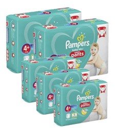 Mega pack 198 Couches Pampers Baby Dry Pants taille 4+ sur Couches Zone