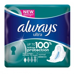 Ultra - Pack 16 Serviettes hygiéniques d'Always taille Normal