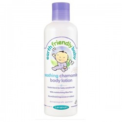 Flacon Lotion hydratante EFB - Earth Friendly Baby Bio à la Camomille sur Couches Zone