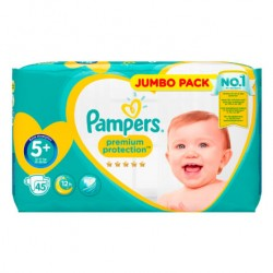 20 Couches Pampers New Baby Premium Protection taille 5+