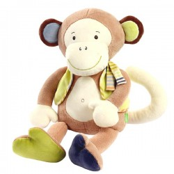 Singe Monkey Donkey - Doudou assis Babysun sur Couches Zone