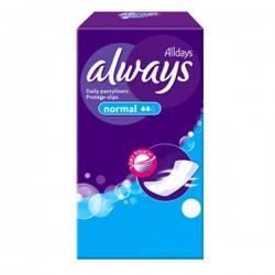 Pantiliners - Pack de 30 Serviettes hygiéniques d'Always taille Normal