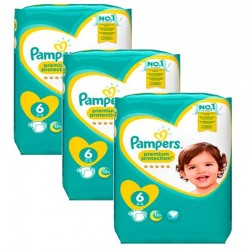 Giga pack 248 Couches Pampers New Baby Premium Protection taille 6 sur Couches Zone