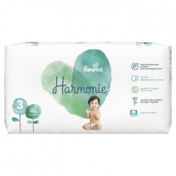 Pack 66 Couches Pampers Harmonie taille 3 sur Couches Zone