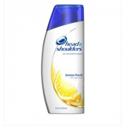 Antipelliculaire Citrus Fresh - Flacon Shampooing d'Head & Shoulders sur Couches Zone