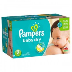 Baby Dry - Pack 252 Couches Pampers taille 2