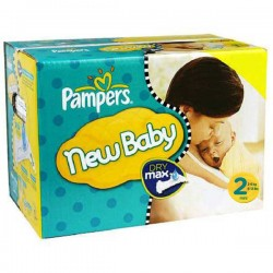 Giga pack 297 Couches Pampers Baby Dry taille 2 sur Couches Zone