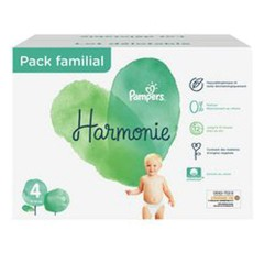 Maxi giga pack 392 Couches Pampers Harmonie taille 4 sur Couches Zone
