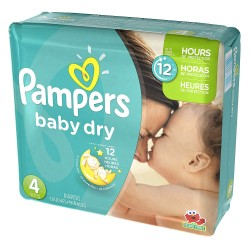 Maxi mega pack 468 Couches Pampers Baby Dry taille 4 sur Couches Zone