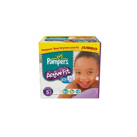 299 Couches Pampers Active Fit Taille 5 Moins Cher Sur Couches Zone