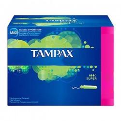 Classique - Pack de 20 Tampons Tampax taille super avec applicateur