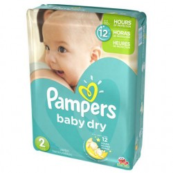 Baby Dry - Pack 42 Couches Pampers taille 2 sur Couches Zone