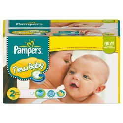New Baby - Pack 80 Couches de Pampers taille 2