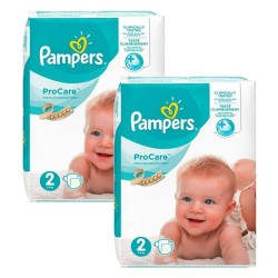 Pack jumeaux 540 Couches Pampers ProCare Premium protection taille 2 sur Couches Zone
