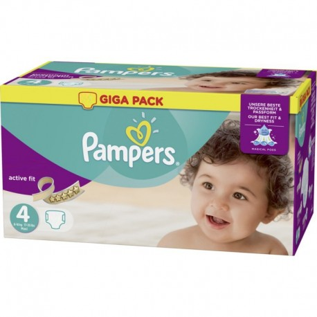 Mega pack 160 Couches Pampers Active Fit Pants taille 4 sur Couches Zone