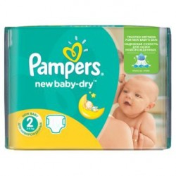 New Baby Dry - Pack 80 Couches Pampers taille 2 sur Couches Zone