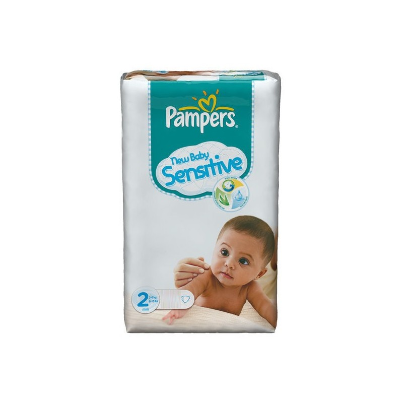 60 Couches Pampers New Baby Sensitive Taille 2 Pas Cher Sur Couches Zone