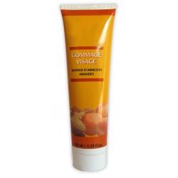 Crème gommage visage aux Noyaux d'abricots & Amandes sur Couches Zone