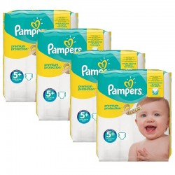 Giga Pack 160 Couches Pampers New Baby Premium Protection taille 5+