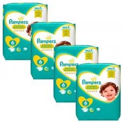 Giga Pack 96 Couches Pampers Premium Protection - New Baby taille 6