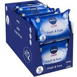 Mega Giga Pack 756 Lingettes Bébés Nivea - Fresh sur Couches Zone