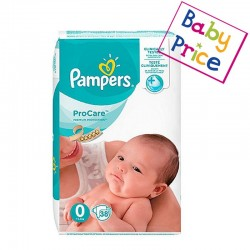 Pack 38 Couches Pampers ProCare Premium protection taille 0 sur Couches Zone