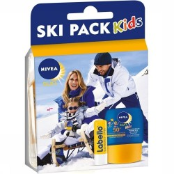 Pack Nivea Kids Ski Protection 50+ et Labello sur Couches Zone