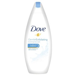 Dove Douche 250 ml Gentle Exfoliating sur Couches Zone