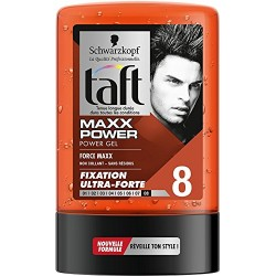 Taft Gel 300 ml Maxx Power N°8 sur Couches Zone