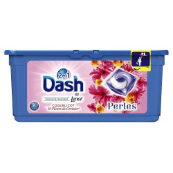 Dash Pearls 30 Coquelicot & Fleurs de Cerisier 2en1 (792 gr) sur Couches Zone