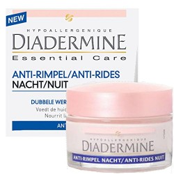 Diadermine Essential Care 50 ml Anti-Rides Nuit sur Couches Zone