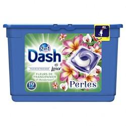 Dash Perles 19 Fleurs de Frangipaniers & Mandarinier 2en1 (501,6 gr) sur Couches Zone