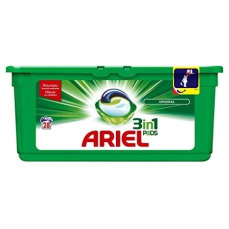 Ariel Pods 28 Original 3in1 (795,2 gr) sur Couches Zone